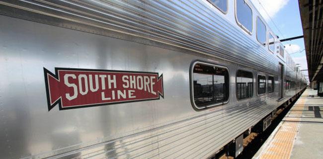 South Shore Train Header - MJF Rentals - Valparaiso Indiana 46383